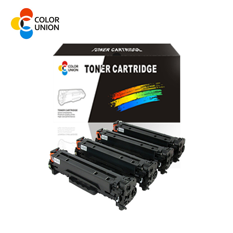 premium color toner cartridges CC530A 531A 532A 533A 304A for HP CP2025/CM2320