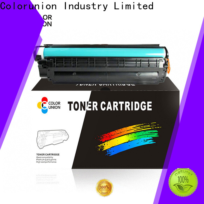 Colorunion china toner cartridge oem & odm fast delivery