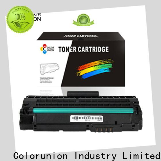 Colorunion wholesale printer cartridge suppliers eco-friendly customization
