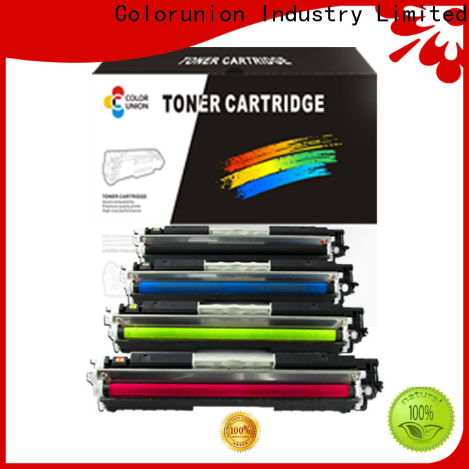Colorunion top-selling toner printer cartridges custom fast delivery