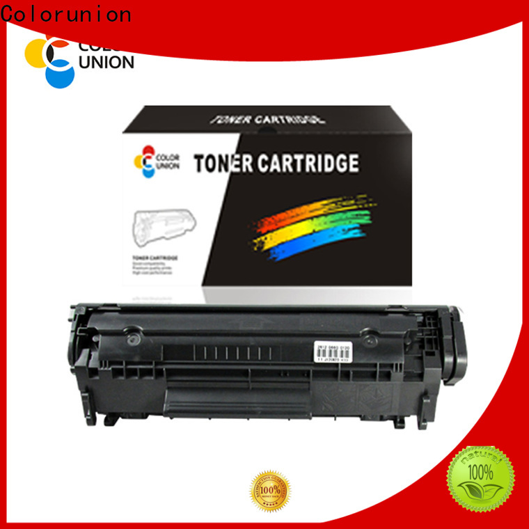 Colorunion china toner cartridge oem & odm new arrival