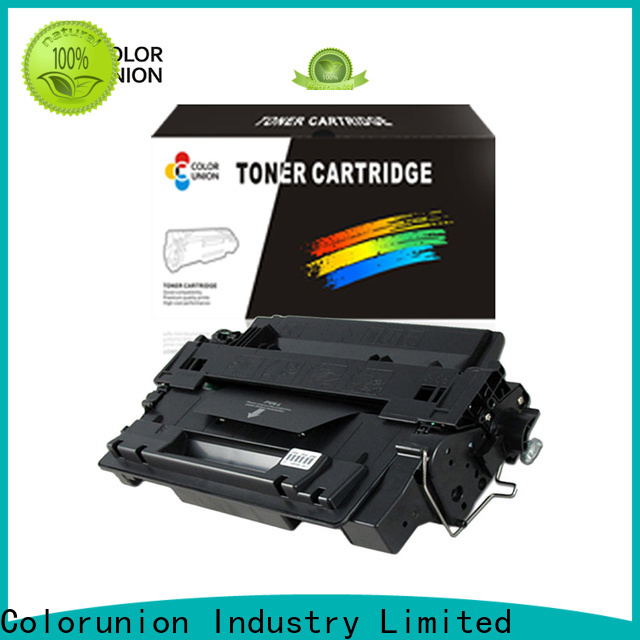 Colorunion best factory price cartridge for hp printer custom fast delivery