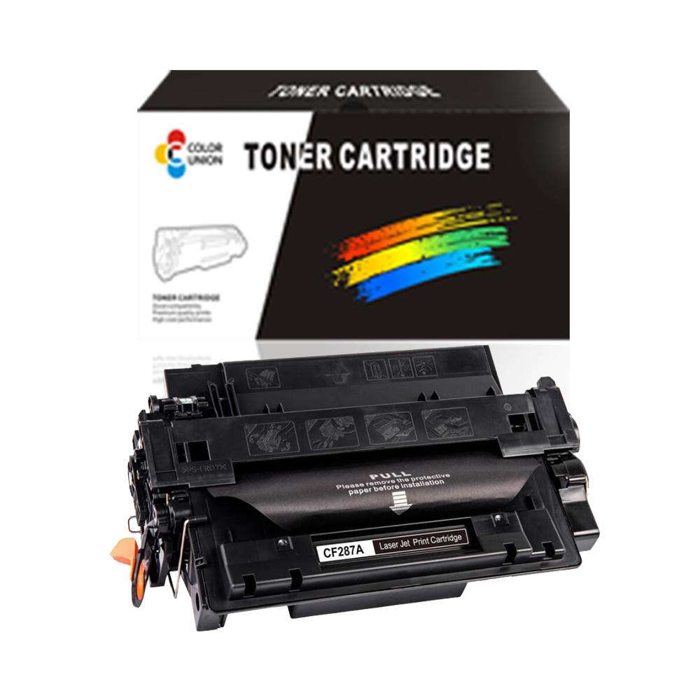 laser toner CF287A toner cartridges for HP print