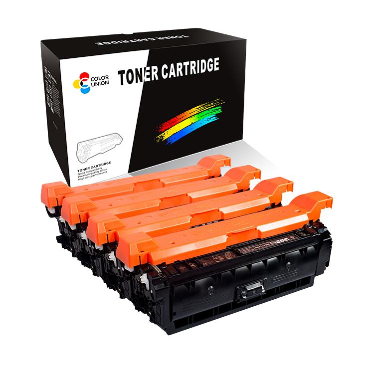 China premium color toner cartridges CF360A 361A 362A 363A 508A for