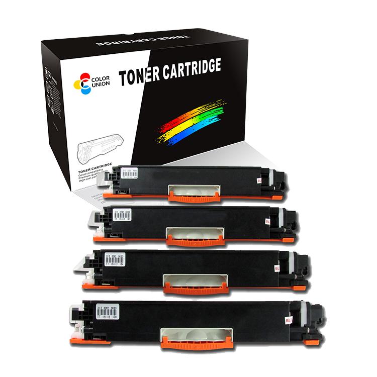China premium color toner cartridges CE310A 311A 312A 313A 126A