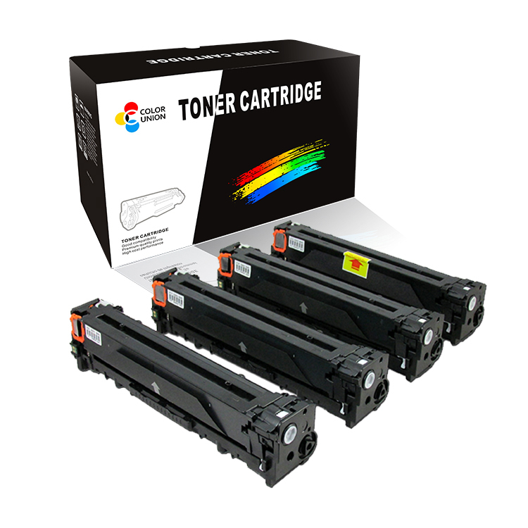 China premium color toner cartridges CF210A CF211A CF212A CF213A 131A for HP LASEJET PRO 200 M251NW/M276NW