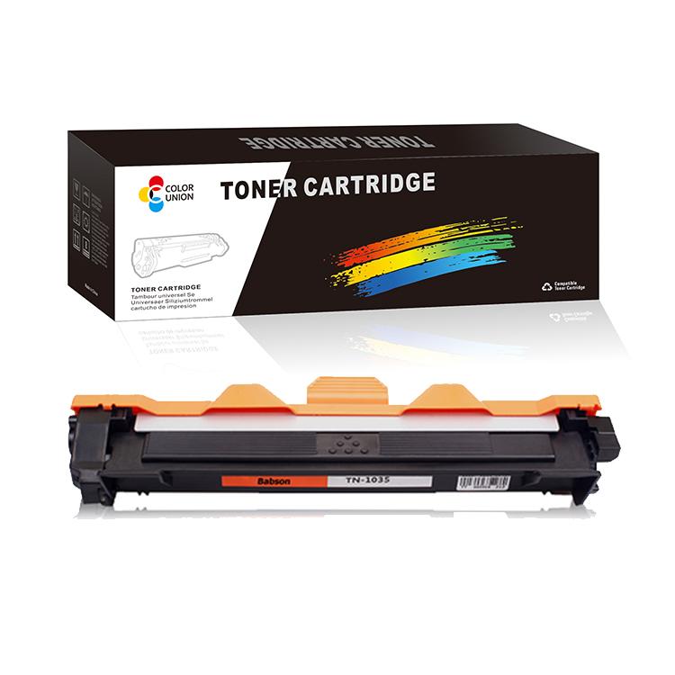 factory toner powder cartridge TN1035 for Brother HL-1118/1110E/1112E/1110/1110R/1112