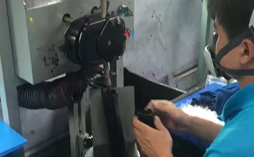 Cartridge use machine Pour into toner materials